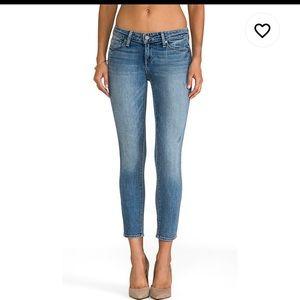 Paige denim Kylie crop jeans in beachwood